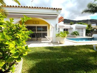 Spacious villa with garden,heated swimming pool - Costa Adeje vacation rentals