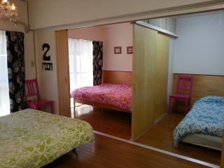 Shibuya-Nakameguro-2bedroom3 beds&mobilewifi - Tokyo vacation rentals