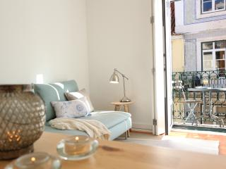 Family-friendly with balcony:historic centre:Baixa - Lisbon vacation rentals