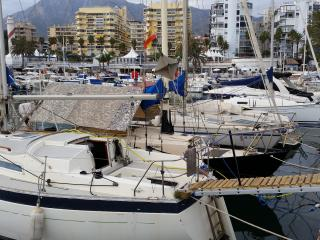 Sailboat in Marbella port,beaches,shops,nightlife - Marbella vacation rentals