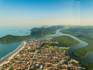 AP aconchegante, praias, rios, montanhas, natureza - Bertioga vacation rentals