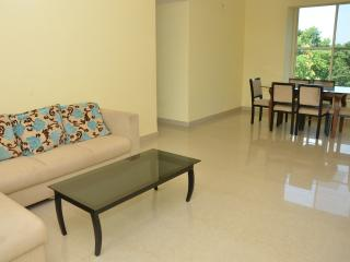2 BEDROOM SERVICE APARTMENT In Ruby Residency By A2Z - Pololem vacation rentals