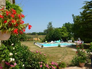 Beautiful Converted Barn, Stunning Pool and Views - Taillecavat vacation rentals