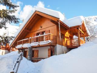 Ski Chalet with Fantastic Mountain Views - Oz en Oisans vacation rentals