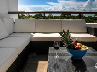 Pristine 2 Bedroom Penthouse overlooking Golf Course - Akumal vacation rentals