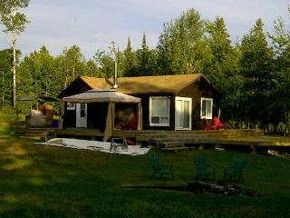 Private 36 acre Lakefront Cottage with Sandy Beach - Restoule vacation rentals