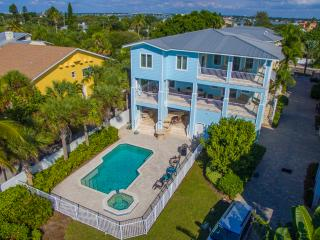 Beachfront Aqua Escape - 5 Bdrs  - Private Pool - Indian Rocks Beach vacation rentals