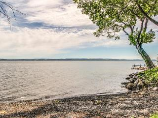 Find lakefront luxury at this spacious, modern home - North Hero vacation rentals