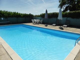 Traditional farmhouse near Riberac, private pool - Allemans vacation rentals