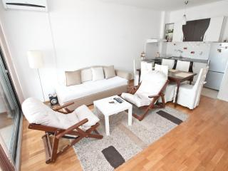Stylish apartment in Budva center with sea view - Budva vacation rentals