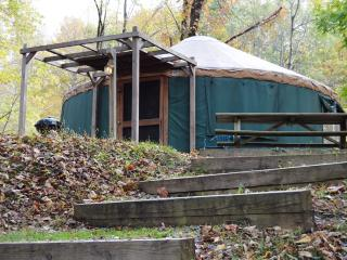 Revelles River Retreat - Pacific Yurt - Bowden vacation rentals