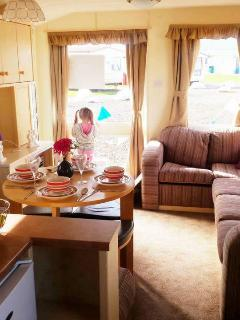 3 Bedroom Static Caravan - Saltcoats vacation rentals