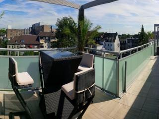 150m2 Penthouse & 100m2 Terrace Hot tob Whirlpool - Oberhausen vacation rentals