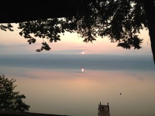Private, large lakefront property, awesome view - Ithaca vacation rentals