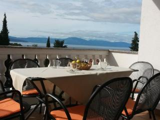 Family apartment with a seaview in Malinska! - Malinska vacation rentals