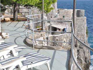 Romantic villa on the sea, into a natural cliff - Fiordo di Furore vacation rentals