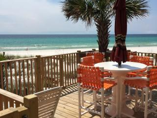 End Villa REAL Deal Beach front walk out door to b - Panama City Beach vacation rentals