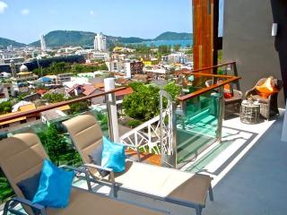 Amazing 3 bed sea views penthouse in Patong ! - Patong vacation rentals