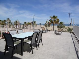 Malvarrosa I with fantastic terrace and see view - Valencia vacation rentals
