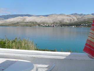 Apartment -directly at the sea - wunderfull view - Pag vacation rentals