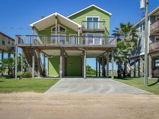 Beautifully renovated house with Gulf views & nearby beach access - dogs okay! - Galveston vacation rentals
