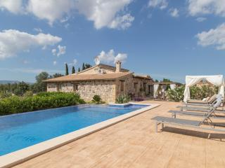 Beautiful villa. Pool with JACUZZI and LED lights - Muro vacation rentals