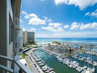 PANORAMIC OCEAN / MARINA VIEW  WAIKIKI 1 BEDROOM - Honolulu vacation rentals