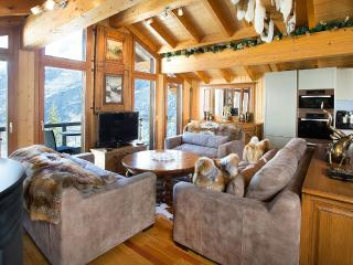 Stirling Luxury Chalet, Sleeps 8 - Saas-Fee vacation rentals