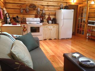 Log cabin, luxurious, private, quiet,dog friendly - Roberts Creek vacation rentals