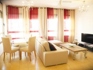 Spacious 2min from beach w/ parking - Tel Aviv vacation rentals
