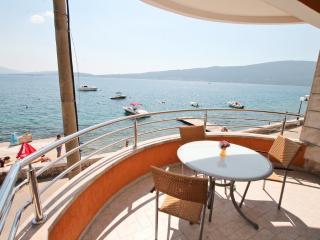 Cozy sea view apartment on seashore - Bijela vacation rentals