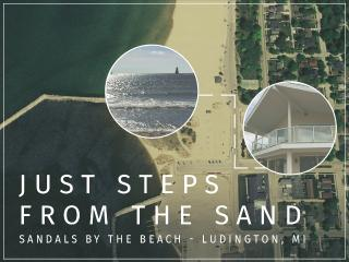 Economical condo right next to the beach! Amazing! - Ludington vacation rentals