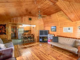 Crystal Cabin - amazing outdoor space! - Crystal Beach vacation rentals