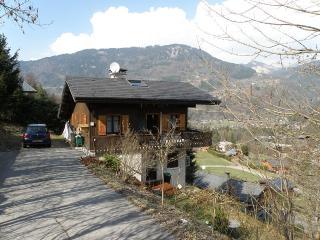 Chalet traditionnel avec très belle vue et situé - Morillon vacation rentals