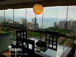Peru Ocean view- Lima, Miraflores apartment - Lima vacation rentals