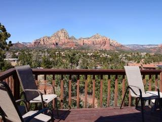 Comfortable, well maintained, two story home with Spectacular Views BRINS - West Sedona vacation rentals