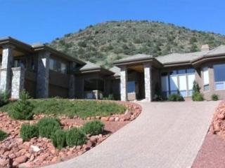 Palatial Luxury!! This home is a private mini-resort! Massive windows offer stunning views of the surrounding Red Rocks!! CRYSTAL - S089 - Village of Oak Creek vacation rentals