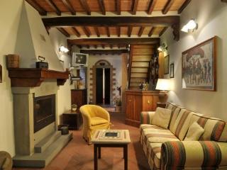 Apartment Overlooking the Rooftops of the Ancient Town of Cortona - Casa Berrettini - Cortona vacation rentals