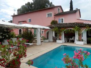 Cote d'Azur House for Family and Friends - La Maison Rose - Chateauneuf de Grasse vacation rentals