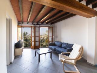 Apartment on Roman Wall, See View & Wi-fi - Palma de Mallorca vacation rentals