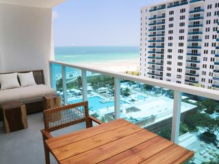 Ocean/Pool Balcony view Luxury Residence 5* Resort - Miami Beach vacation rentals