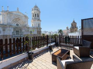 Cathedral Penthouse ☼ With 2 terraces - Cadiz vacation rentals