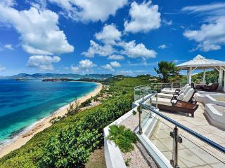 Overlook Baie Rouge and Aguilla from this villa. C TER - Baie Rouge vacation rentals