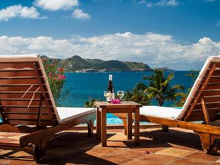 Clean & Comfortable with sunset views over St. Barts WV JCC - Pointe Milou vacation rentals