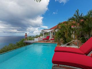 Nestled in the hillside of Colombier offering spectacular ocean views WV CLO - Colombier vacation rentals
