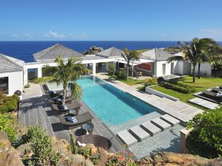 Located on the edge of the magnificent cliffs of Petit Cul de Sac WV CMA - Saint Barthelemy vacation rentals