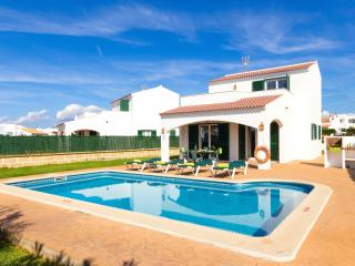 Villa Noa: villa with pool and air-conditioning - Cala'n Bosch vacation rentals