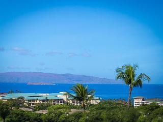 Wailea Ekolu #406 2 BD 2BA Panoramic Ocean View, Full A/C, Sleeps 4 - Wailea vacation rentals