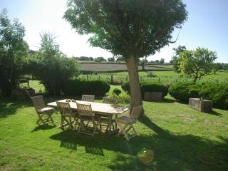 Beautiful Farmhouse Barn with Internet Access and Dishwasher - Echassieres vacation rentals