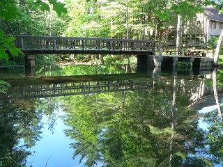 Poolside 5 on Kearsarge Brook - WATERFRONT LUXURY! - North Conway vacation rentals